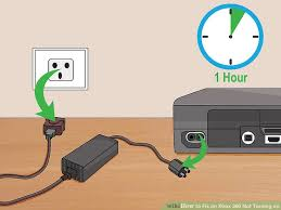 xbox 360 power brick red light how to fix an xbox 360 not turning on with pictures wikihow