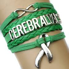 cerebral palsy ribbon 10 pieces lot high quality cerebral palsy awareness ribbon bracelet