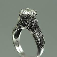 titanium engagement rings images Titanium diamond engagement rings for her archives www jpg