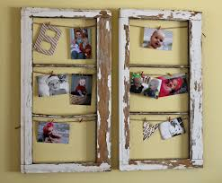 Using Old Window Frames To Decorate Crafts Using Old Window Frames Home Decor Ideas