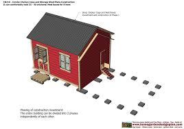 barn chicken coop combo chicken coop design ideas