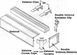 Graber Valance Clips Graber Verticals Installation Instructions