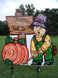halloween yard art gallery mary mays