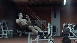 Stronger Bench Slow Motion Of A Man Getting Stronger With Doing Bench Press