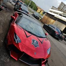 red camo lamborghini car wrap film malaysia home facebook