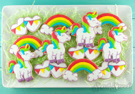 how to make unicorn cookies semi sweet designs
