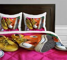 deny designs barbara sherman my shoes duvet cover queen size