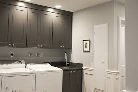 gray laundry room cabinets traditional laundry room benjamin