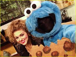 halloween cookie monster costume sadie robertson dresses up as grease u0027s sandy for halloween photo