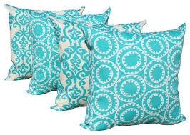 red and blue outdoor throw pillows set contemporary outdoor