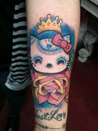 awesome hello kitty tattoo tattoomagz