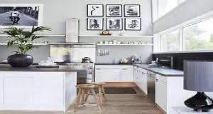 deco cuisine blanche et grise cuisine blanche 20 idées déco pour s inspirer deco cool