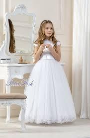 communion dresses nj bell cd11 tulle lace communion dress petit posh