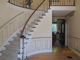 modern trim molding model staircase model staircase trim molding installing to curved