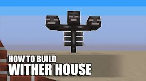 minecraft how to build a wither house youtube