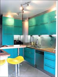 meuble cuisine bleu meuble de cuisine bleu idée de modèle de cuisine