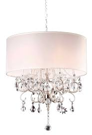 Cheap Drum Light Fixtures Ore International K 5109h 21 Inch Crystal Chandelier Silver