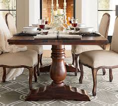 Wood Rectangle Dining Table Bowry Reclaimed Wood Dining Table Pottery Barn