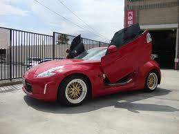nissan altima coupe lambo doors jt autostyle