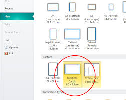 Bleed For Business Cards Creating And Exporting With Bleed And Crops In Ms Publisher 2010