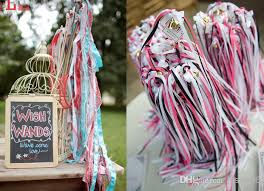 ribbon streamers newest twirling ribbon streamers wedding favor ribbon sticks