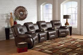 top rated home theater seating seven piece reclining home theater group with three drink holder