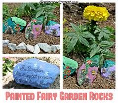 Painting Rocks For Garden Painted Garden Rocks The Pinterested Parent