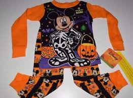 disney mickey mouse halloween toddler boys 2t 3t 4t 5t pajamas