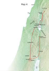 Judea Map A7 E Main Events Of Jesus U0027 Earthly Life U2014jesus U0027 Great Ministry In
