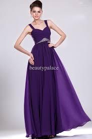 dh prom dresses designer a line spaghetti straps sleeveless sweep