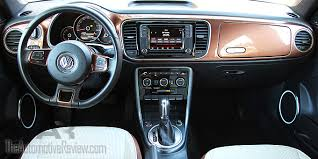 Vw Beetle Classic Interior 2017 Vw Beetle Convertible Review The Automotive Review