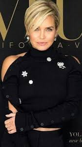yolanda foster hair tutorial beautiful short bob hairstyles and haircuts with bangs hair
