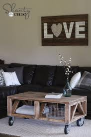 Diy Coffee Tables 42 Diy Ideas For Coffee Tables To Make You Say Wow
