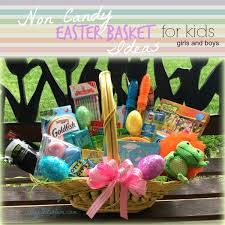 candy basket ideas non candy kids easter basket stay fit
