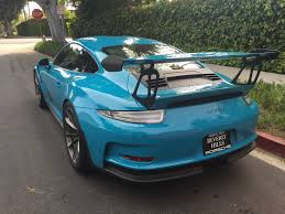 miami blue porsche wallpaper friend got a pts miami blue rs rennlist porsche discussion forums