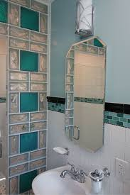 contemporary and colored glass block designs for walls and windows