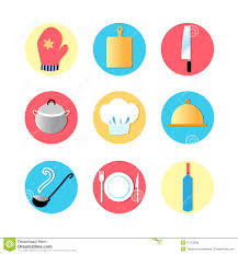kitchen utensils design kitchen utensils and kitchen flat icons stock photo image 47163928