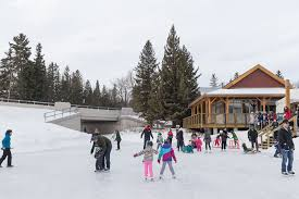 indoor and outdoor skating rinks