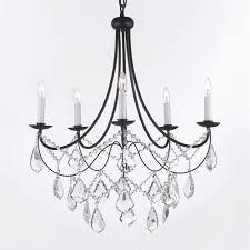 Gallery Lighting Chandeliers Thomas Lighting Sl8015 5 Light Tahoe Chandelier Wrought Iron And