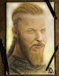 why did ragnor cut his hair ragnar lothbrok from the vikings by avianbrothers on deviantart