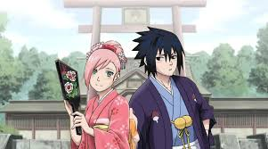 sasuke and sakura image sasuke and new year card 1 png heroes wiki