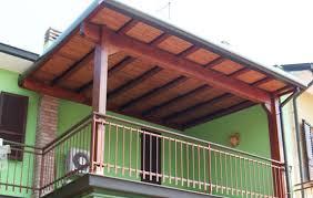 tettoia in legno per terrazzo coperture in legno sardegna
