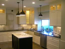Lights For Kitchen Ceiling Stainless Steel Stools Complete Kitchen Ceiling Black Marble Top