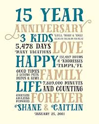 12 year anniversary gift for gifts for 15th wedding anniversary for 15th wedding anniversary