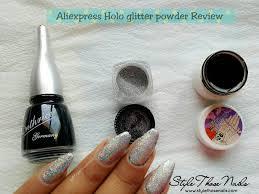 style those nails aliexpress yankun happy store holo glitter