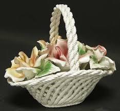 capodimonte basket of roses capodimonte capodimonte giftware at replacements ltd page 1