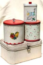 unique kitchen canisters vintage metal kitchen canister sets vilhena me