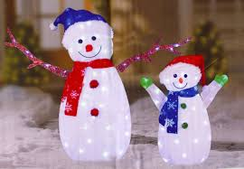 snowman outdoor christmas decorations christmas lights card and