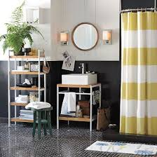 Stripe Shower Curtains Tutorial How To Make A Striped Shower Curtain Welcome To Heardmont