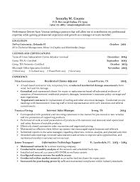 Veteran Resume Examples by Scourby Counts Resume